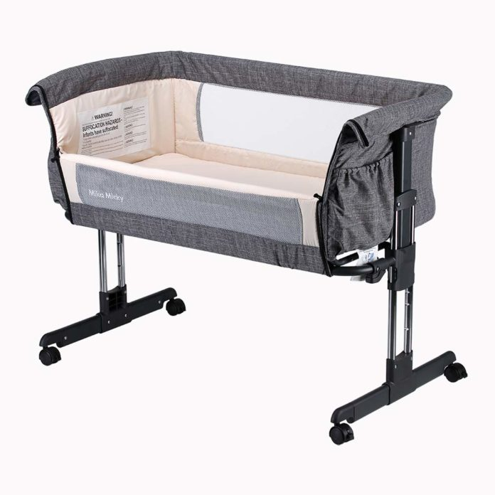 Mika Micky Bedside Sleeper Review – Simple and easy Folding Portable Crib