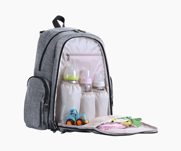Features of the Sleeping Lamb Baby Diaper Bag Backpack